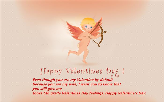 Romantic Happy Valentine's Day Greetings For Wife