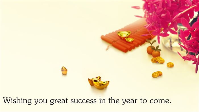 Best Chinese New Year Greeting Words For Business