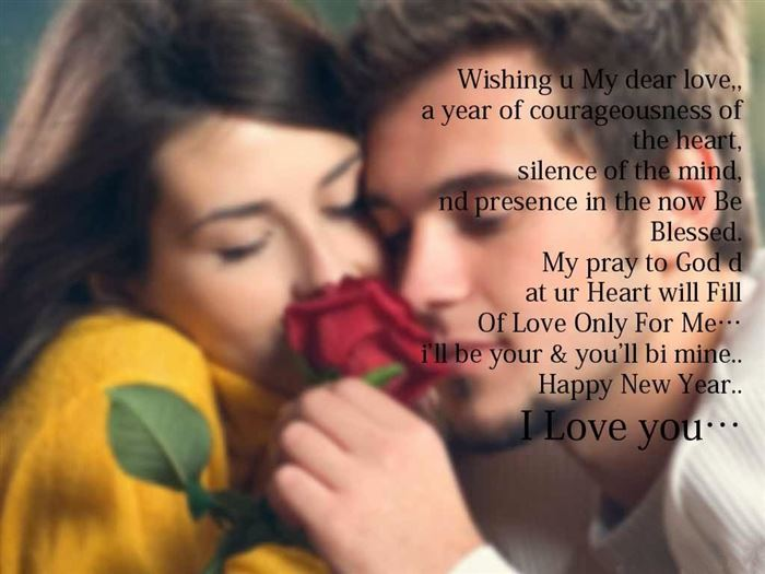 Romantic Happy New Year Wishes For Girlfriends