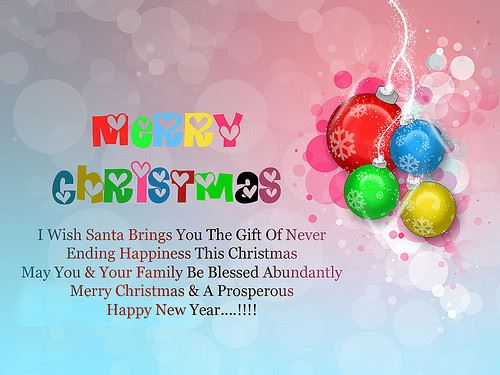 Meaning Merry Christmas And Happy New Year Wishes Quotes