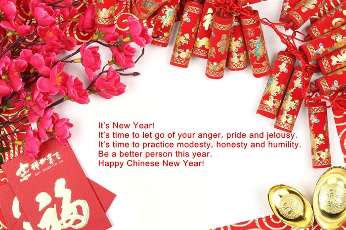 Meaningful Chinese New Year Wishes Greetings Words