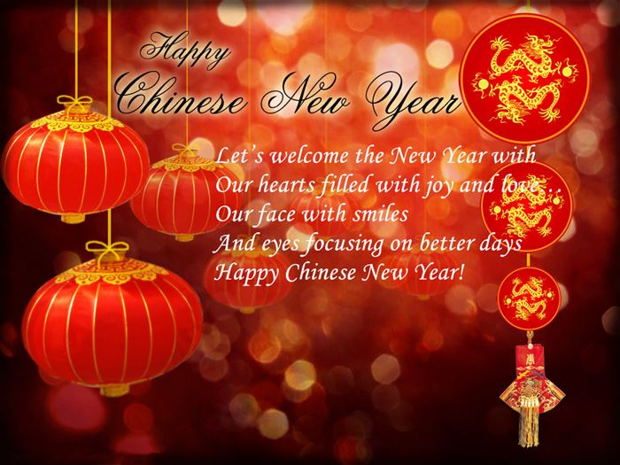 Unique Chinese New Year Wishes Greetings Words