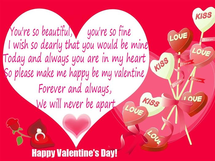 Romantic Valentine's Day Greeting Card Messages