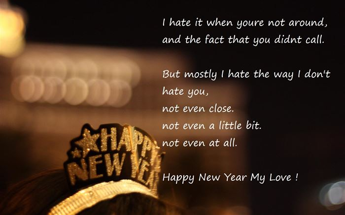 Romantic Happy New Year Poem For Girlfriends