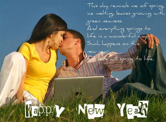 Romantic Happy New Year Sayings For Loved Ones