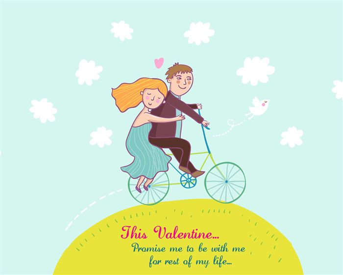 Lovely Happy Valentine's Day Greetings For Husbands
