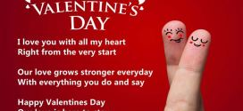 Romantic Happy Valentine's Day Love Poems For Husbands
