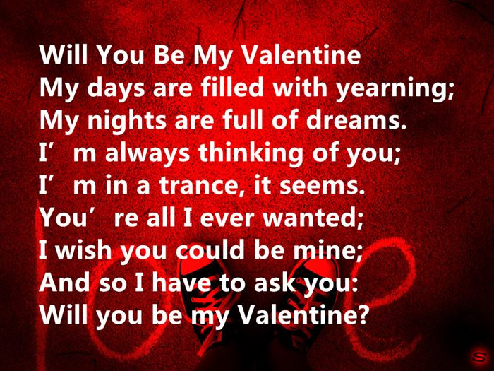 Lovely Happy Valentine's Day Love Poems For Wife