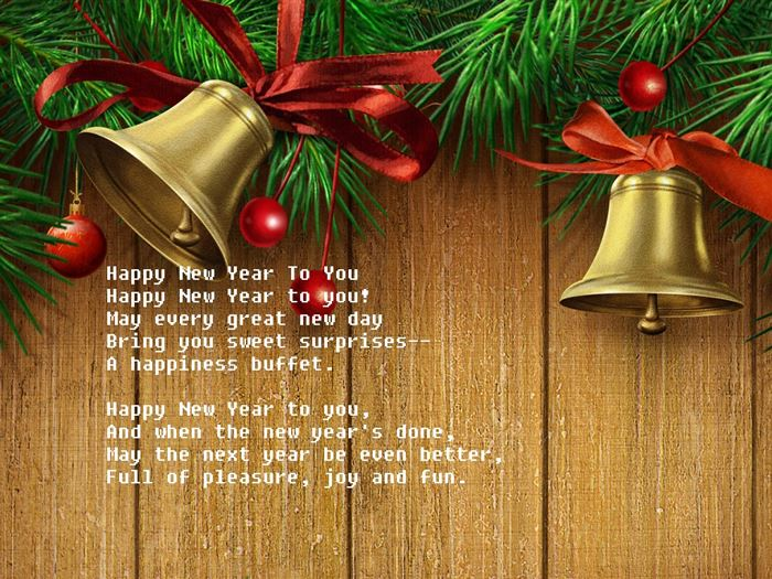 Short Happy New Year Poem For Friends Free