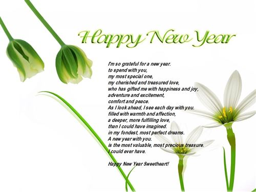 Short Free Happy New Year Poem For Husbands