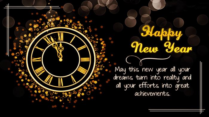Beautiful Christian Happy New Year Greetings Message