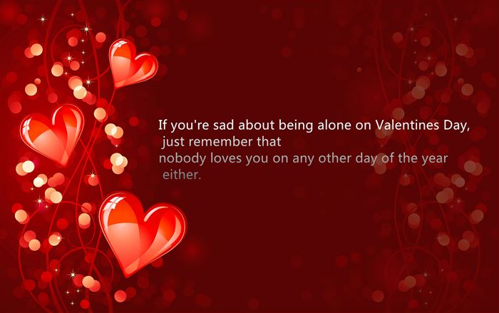 Funny Quotes About Happy Valentine's Day For Singles