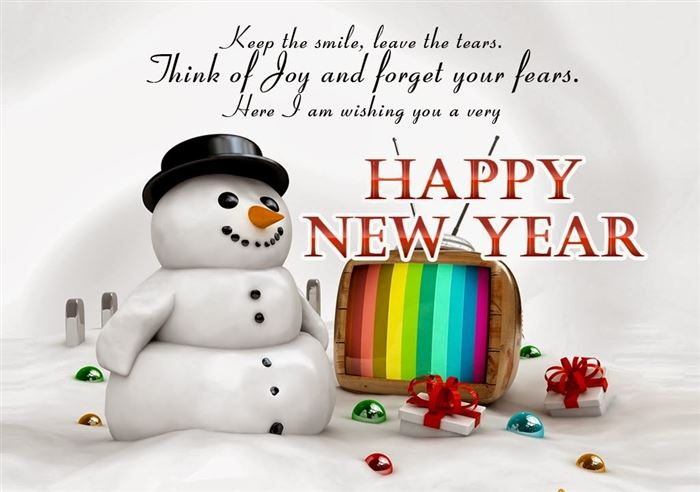Funny Happy New Year Card Message For Friends