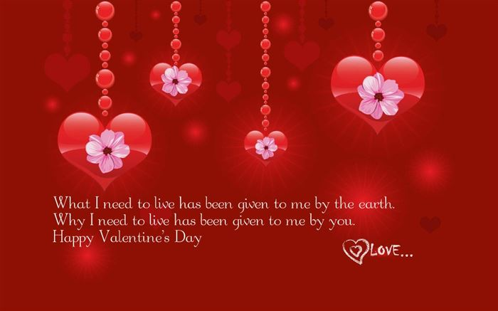 Lovely Happy Valentine's Day Sayings For Cards