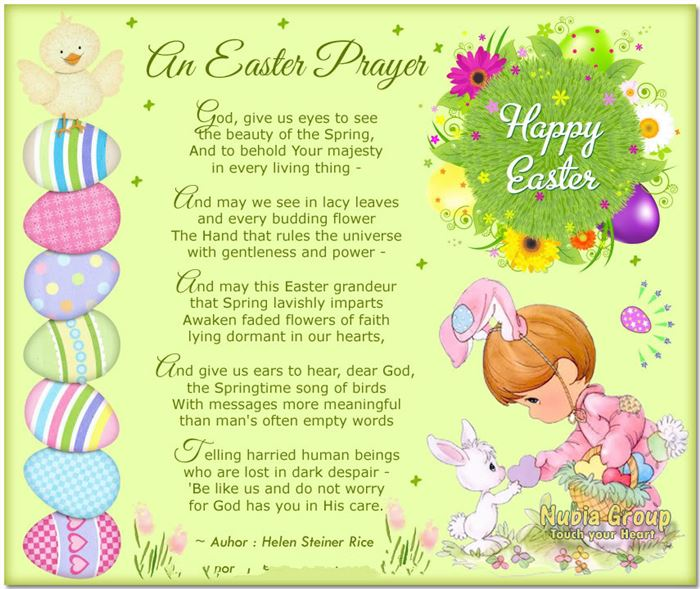 Best Christian Happy Easter Poems And Prayers
