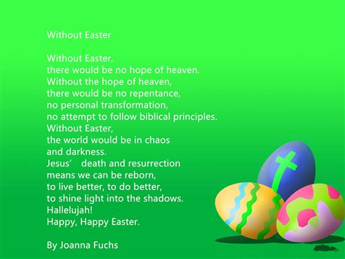 Best Christian Happy Easter Poems And Readings