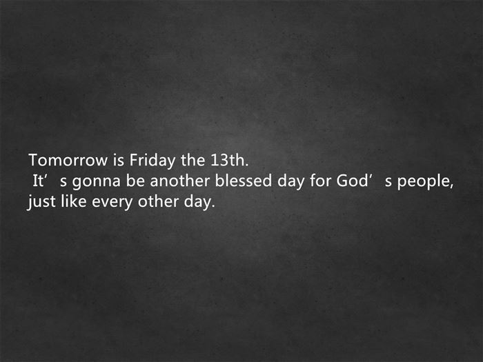 Best Friday The 13th Quotes For Facebook