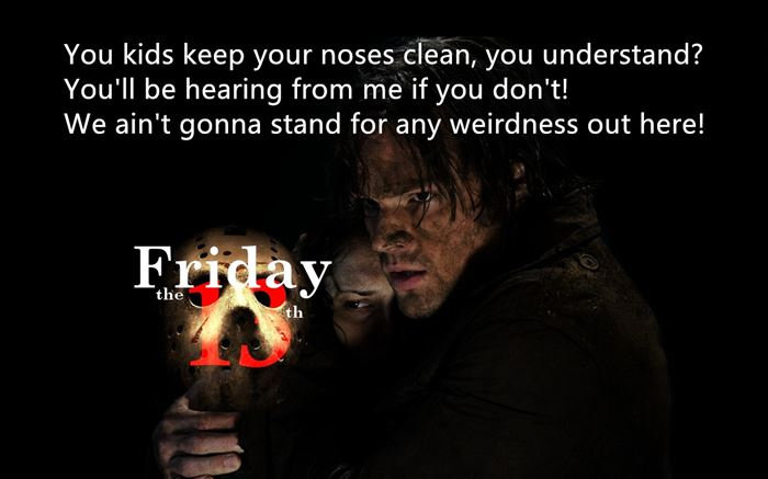 Free Friday The Thirteenth Movie Quotes