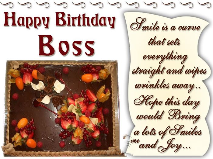 Meaningful Happy Birthday SMS Wishes For Boss