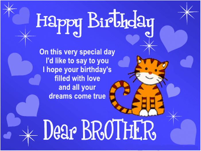 Meaning Happy Birthday SMS Wishes For Brother