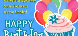 Cute Happy Birthday SMS Wishes For Girlfriends