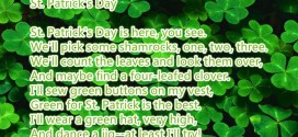 Famous St. Patrick's Day Poems For Children