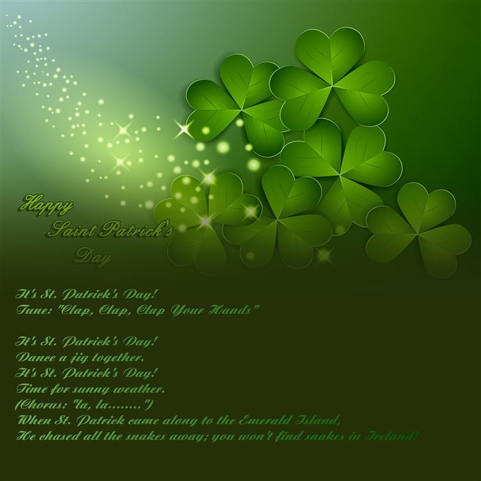 Meaningful St. Patrick's Day Poems For Children