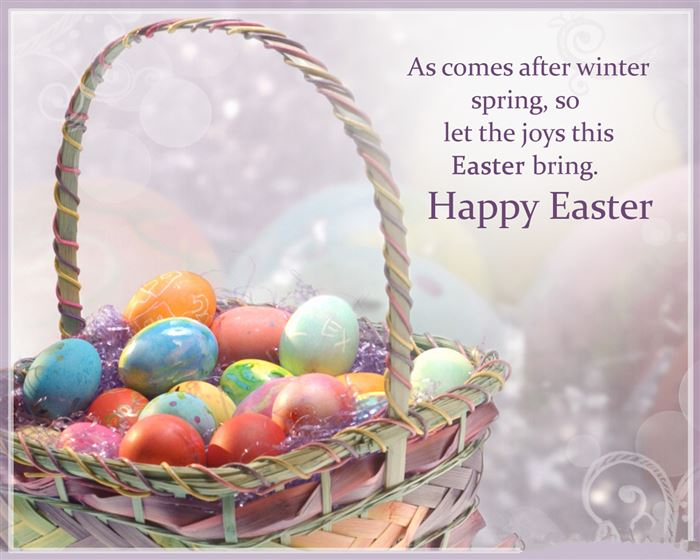 Friendly Happy Easter Wishes Messages For Friends