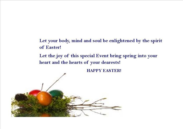 Ideal Happy Easter Greetings Messages For Business