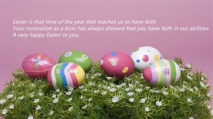 Meaningful Happy Easter Greetings Messages For Boss
