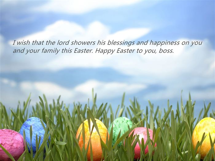 Best Happy Easter Greetings Messages For Boss