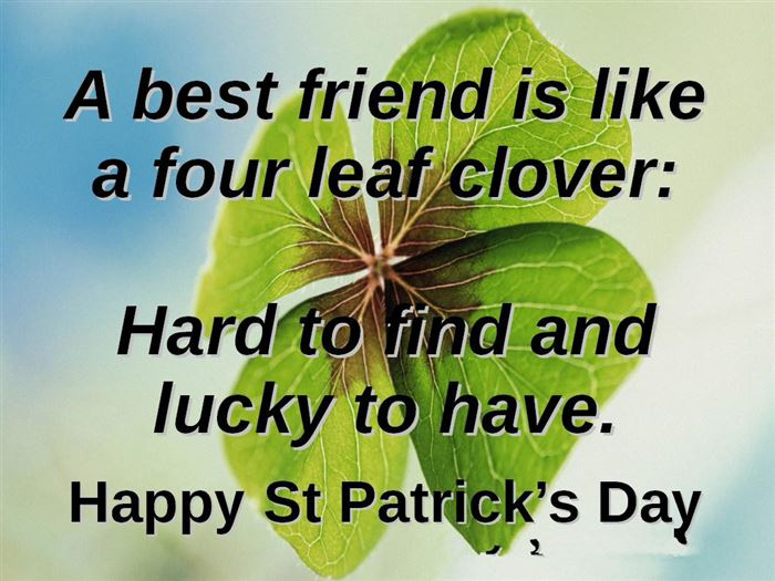 Unique St. Patrick's Day Quotes And Sayings