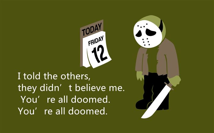 Best Friday The 13th Movie Quotes
