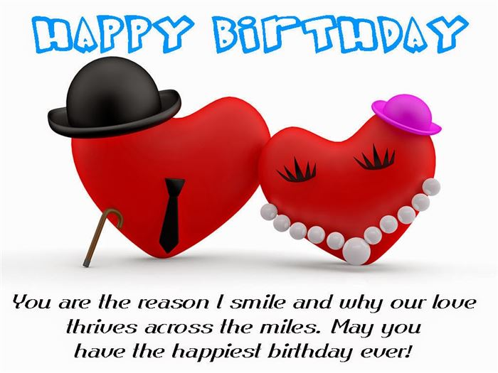 Lovely Happy Birthday Wishes SMS For Lover