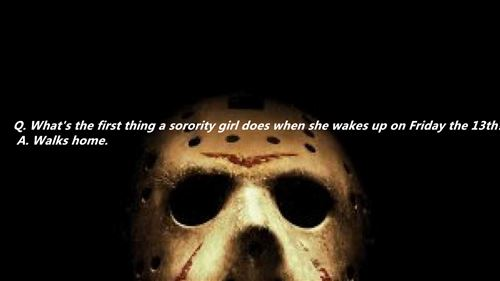 Top Friday The 13th Jokes For Kids