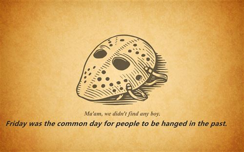 Best Free Friday The 13th Jokes For Kids