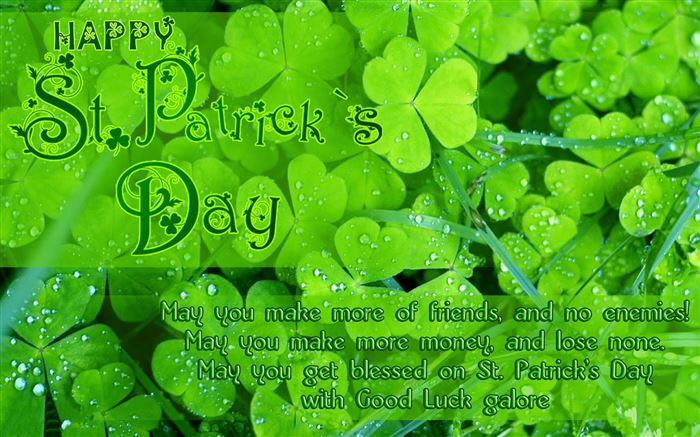 Famous St. Patrick's Day Blessings Quotes