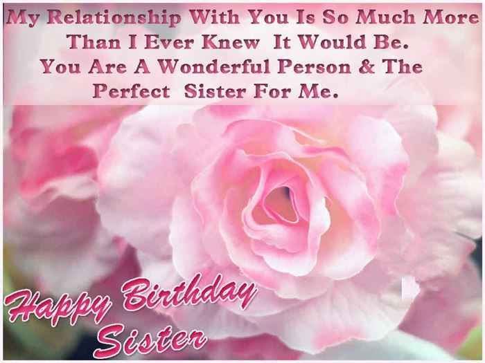 Unique Happy Birthday Wishes Messages For Sister