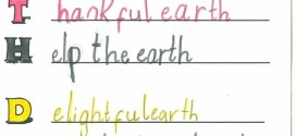 Best Happy Earth Day Acrostic Poem Examples
