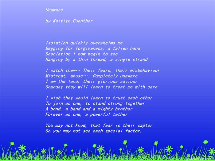 Famous Happy Earth Day Poems For Children