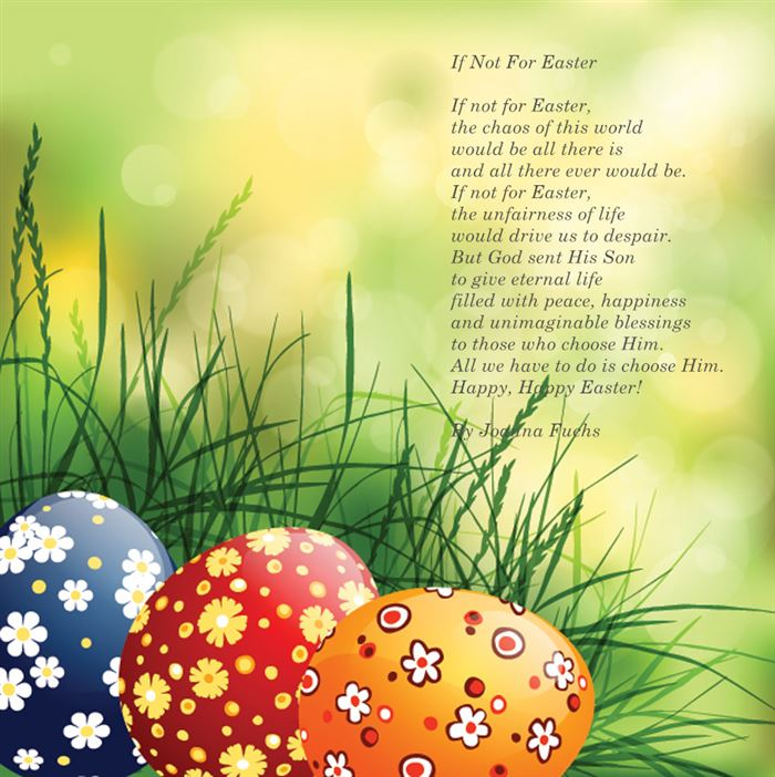 Meaning Christian Easter Poems By Joanna Fuchs