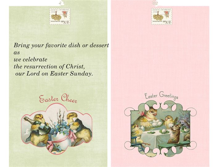 Unique Easter Party Invitation Poems