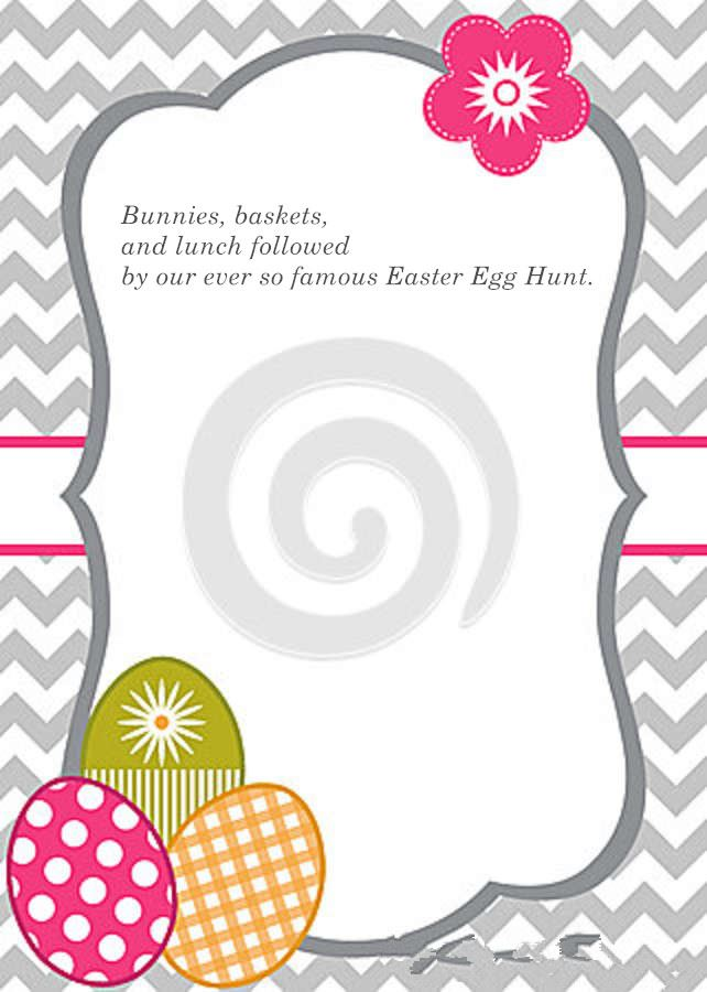 Meaningful Easter Party Invitation Poems