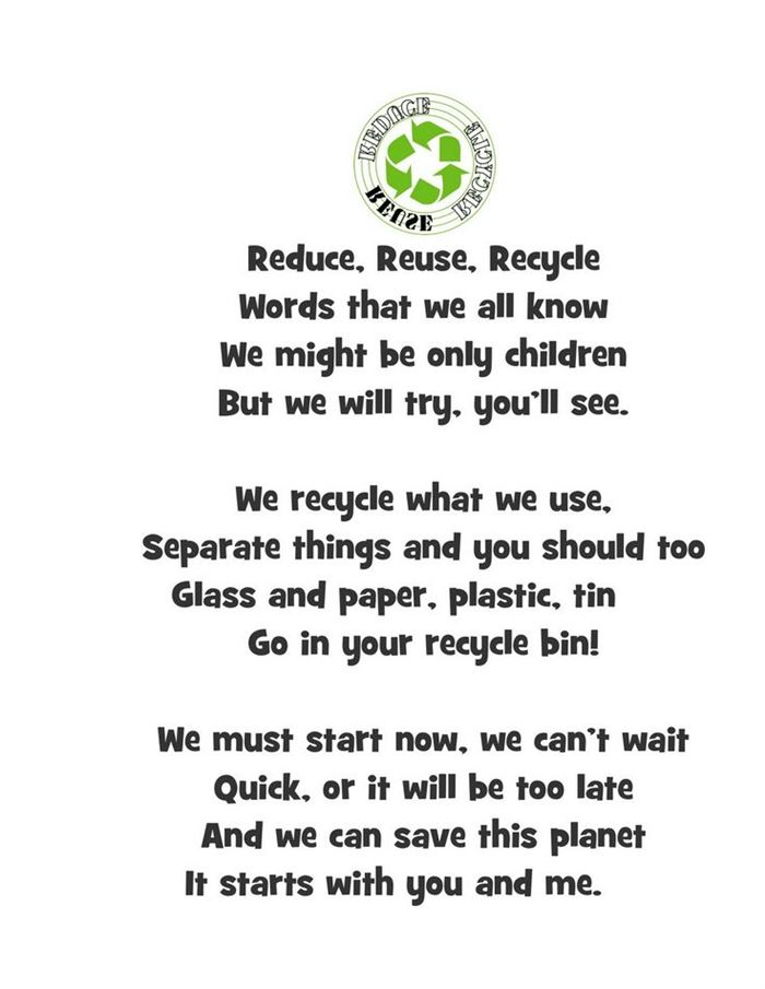 Famous Happy Earth Day Poems For Preschoolers
