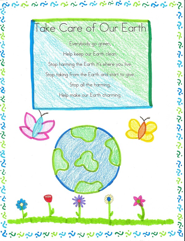 Short Happy Earth Day Poems For Preschoolers