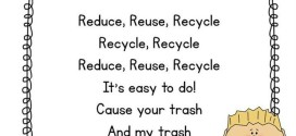 Famous Happy Earth Day Reduce Reuse Recycle Poems