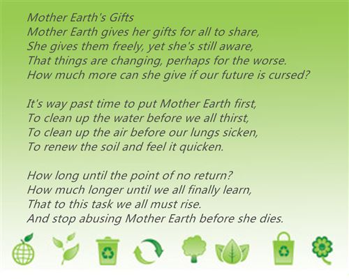 Famous Limerick Poems About Happy Earth Day