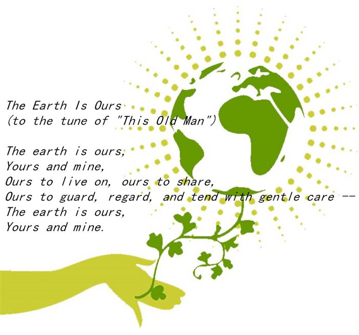 Free Happy Earth Day Poems For Kindergarten