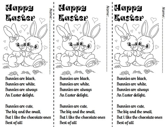 Top Funny Happy Easter Poems
