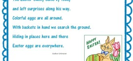 Unique Christian Easter Poems For Toddlers